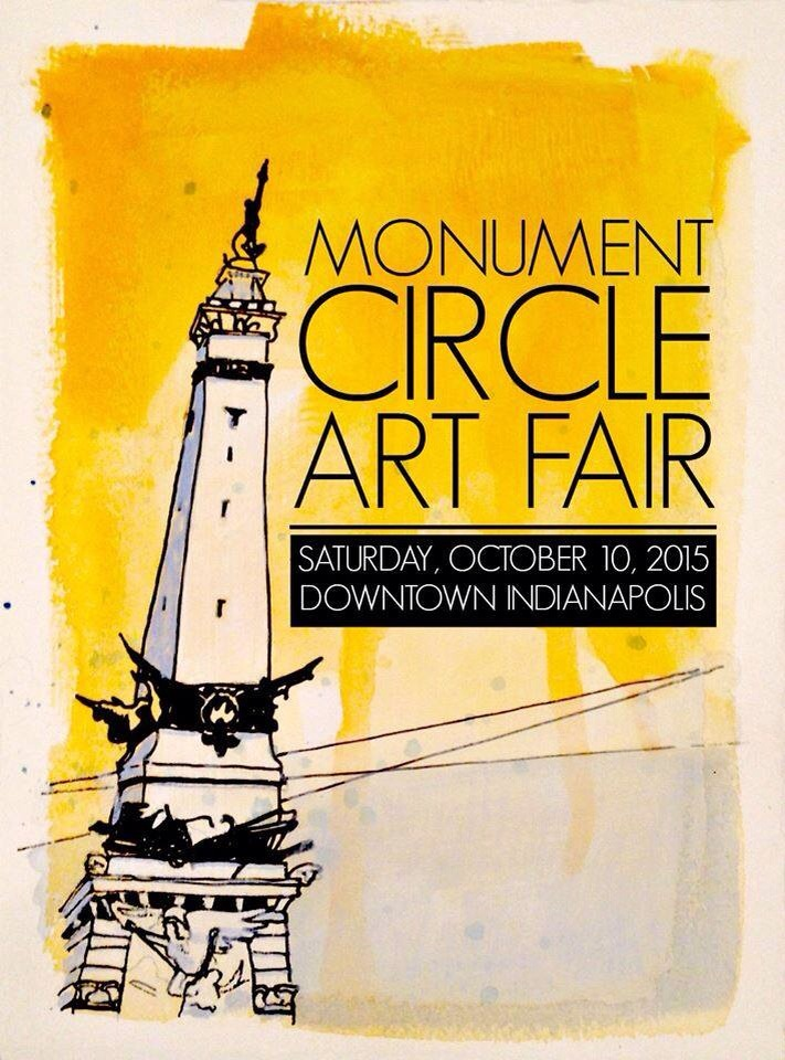 Monument Circle Art Fair 2015